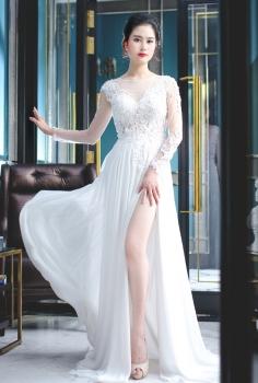 Đầm dạ hội cưới sang trọng và đẳng cấp
