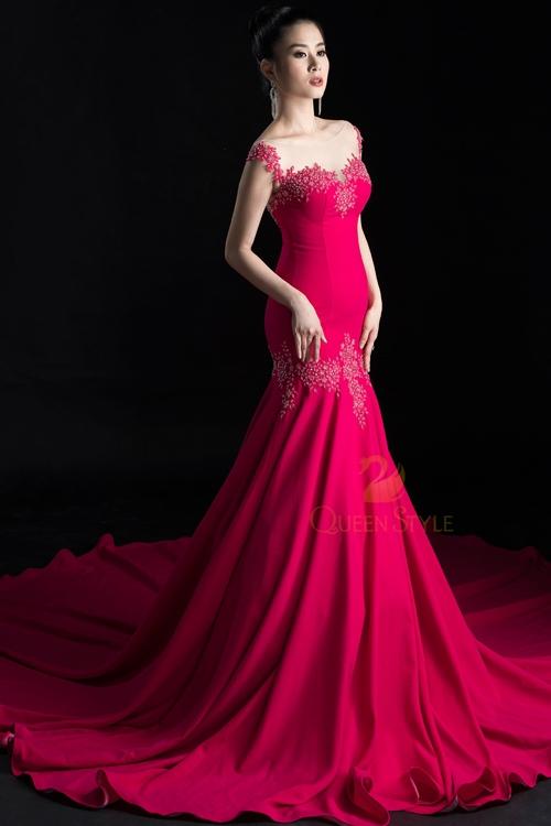 Đầm dạ hội với thiết kế cổ điển phù hợp với nhiều sự kiện thời trang