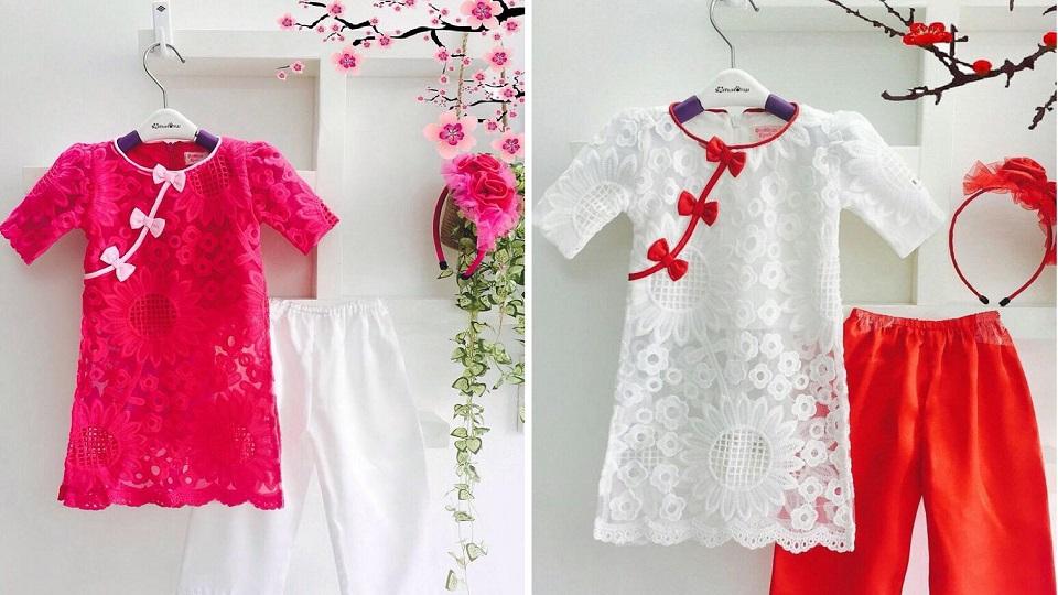 Cách chọn mua áo dài cách tân cho bé gái mẹ nhất định phải biết