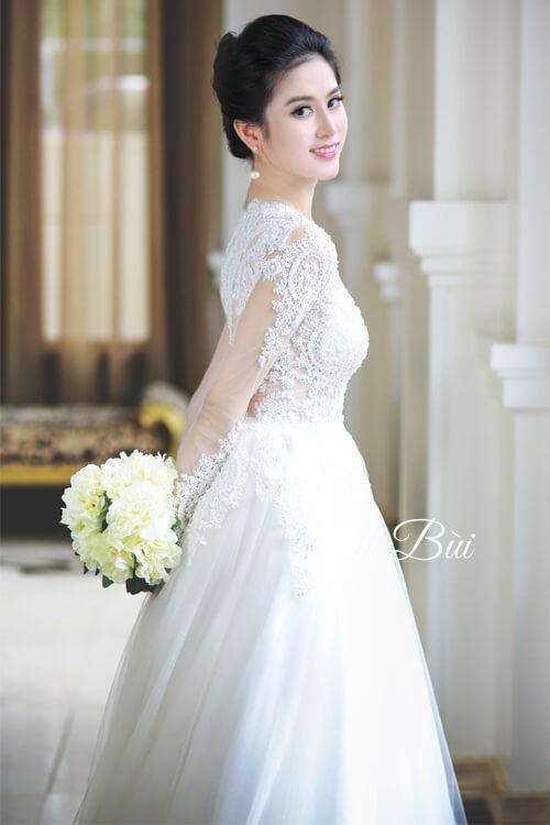 Địa chỉ mua váy cưới cho cô dâu ở Hà Nội