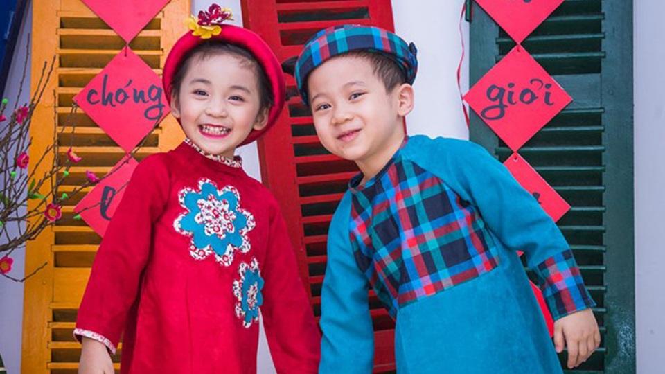 Địa điểm bán áo dài trẻ em cao cấp ở Hà Nội
