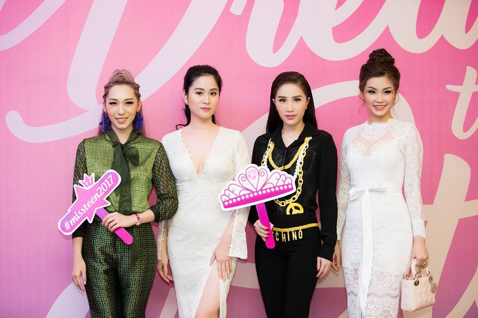 """NTK Linh Bùi đồng hành cùng """"Miss Teen Việt Nam 2017"""""""