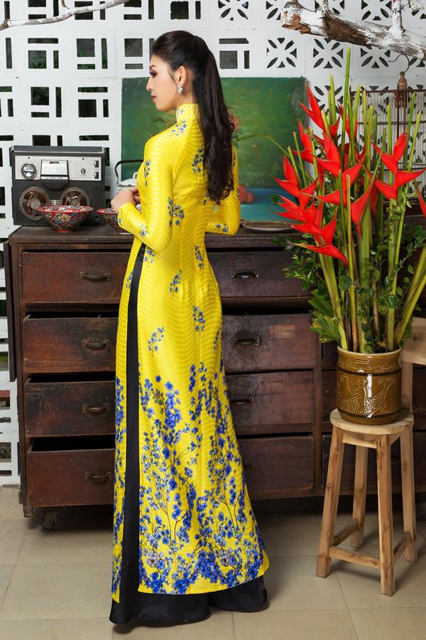 Áo dài tôn dáng cho cô dâu mùa xuân - 3
